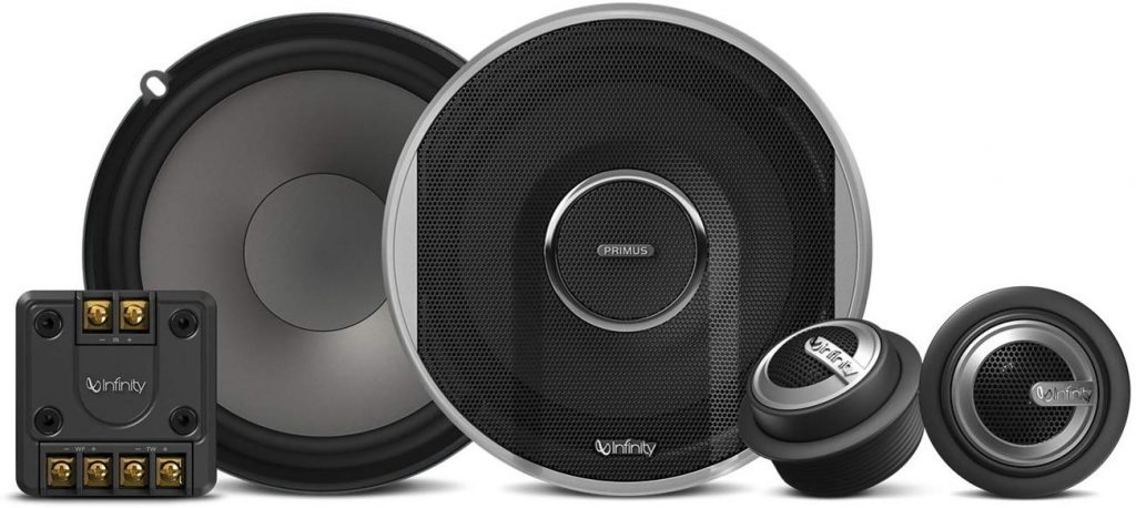 Infinity Primus PR6510CS 480W Max (160W RMS) 6.5 Inch Primus Series 2-Way Car Component Speakers System Set Roll over image to zoom in Infinity Primus PR6510CS 480W Max